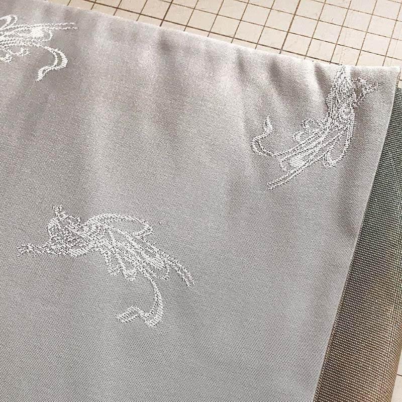 月光シルク箔の露芝蛍