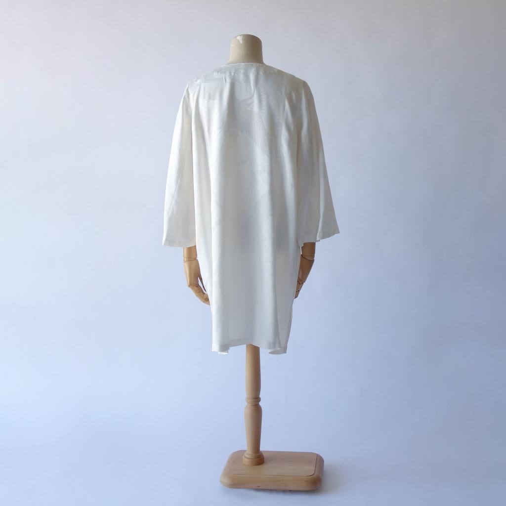 白鶴襦袢Vネックジャケット