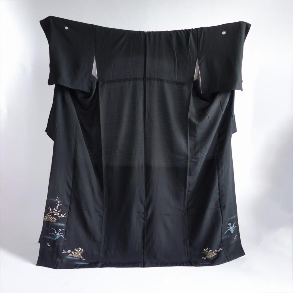留袖サンプル羽織袖スタイリング