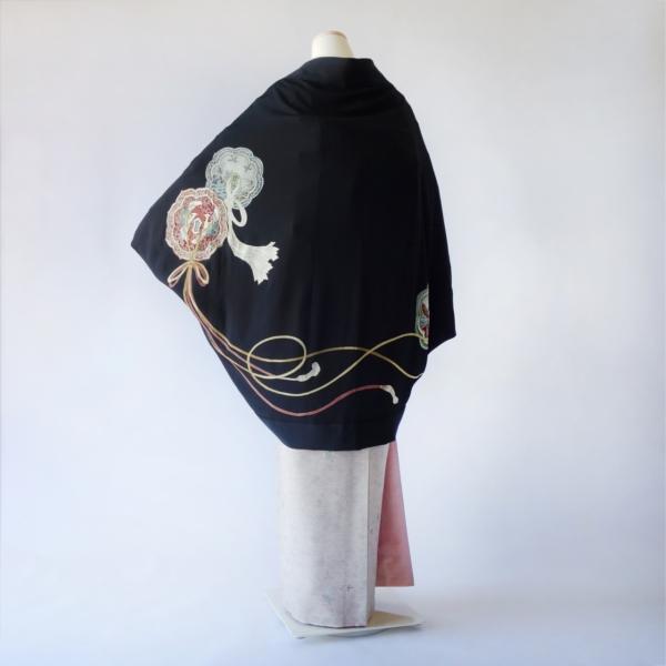 モモンガKIMONO羽織(鴛鴦の結び)