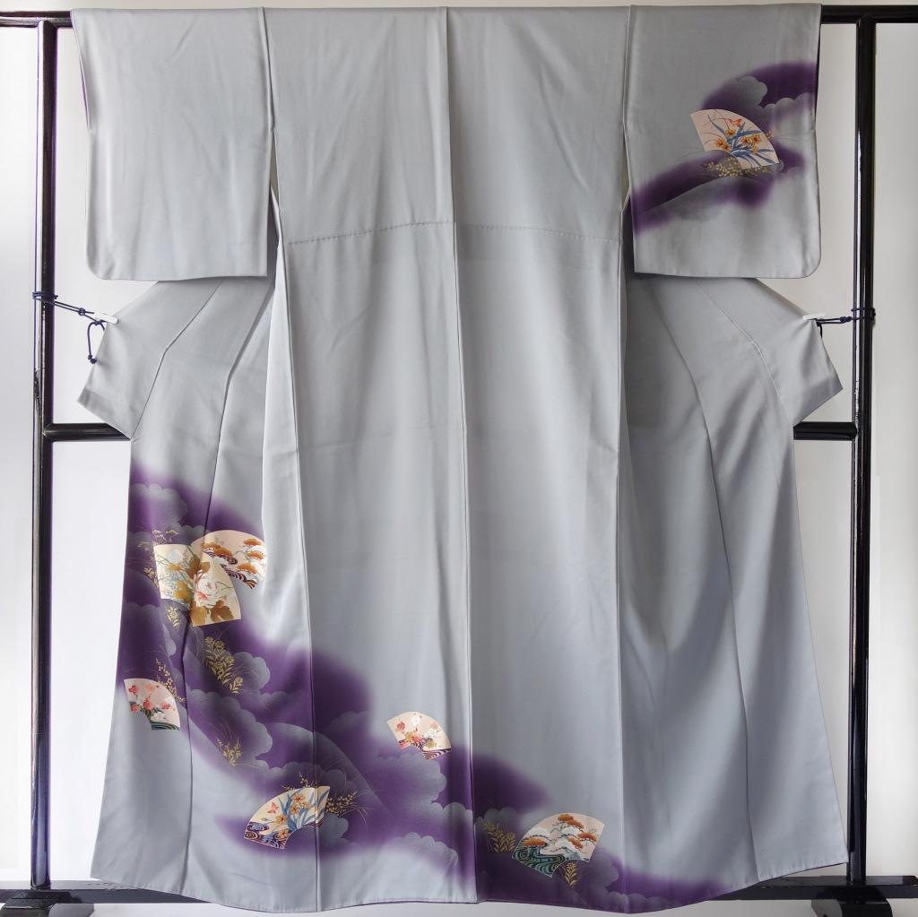 リバーシブルモモンガ着物羽織_色留袖と附下