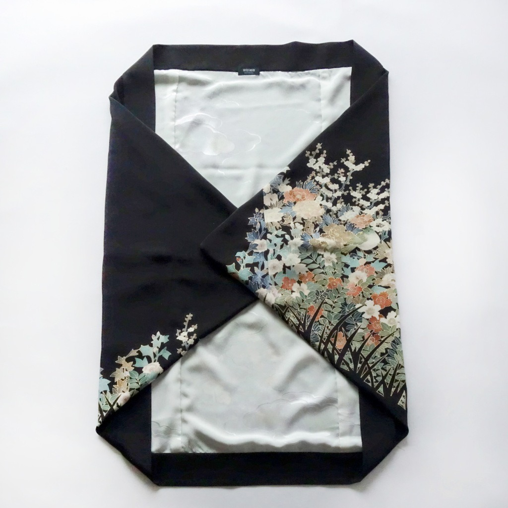 小鳥と花のモモンガKIMONO羽織